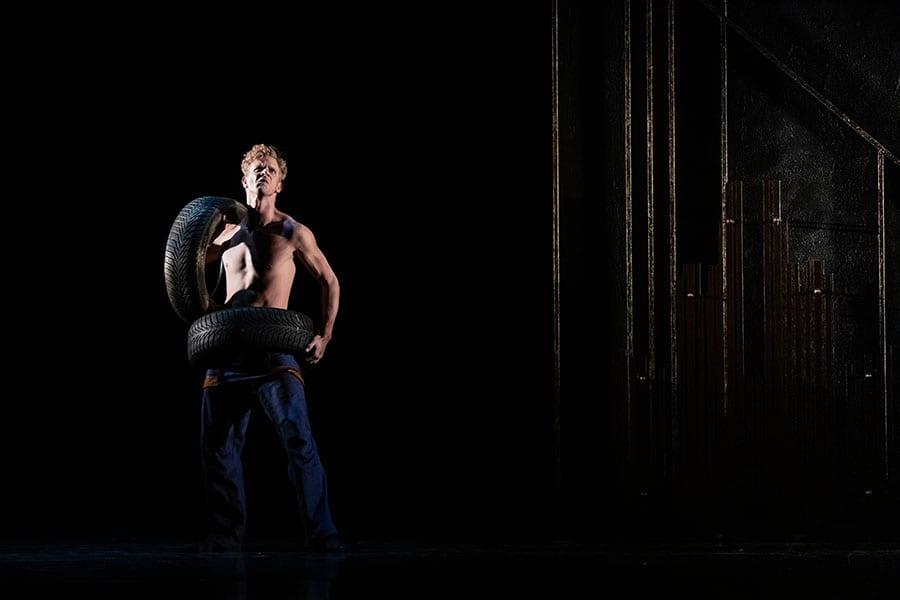 Veliki Gatsby: Lukas Zuschlag; foto: Darja Stravs Tisu; vir: SNG Opera in balet Ljubljana