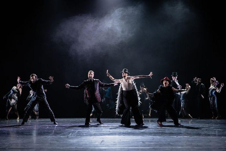 Veliki Gatsby: baletni ansambel; foto: Darja Stravs Tisu; vir: SNG Opera in balet Ljubljana