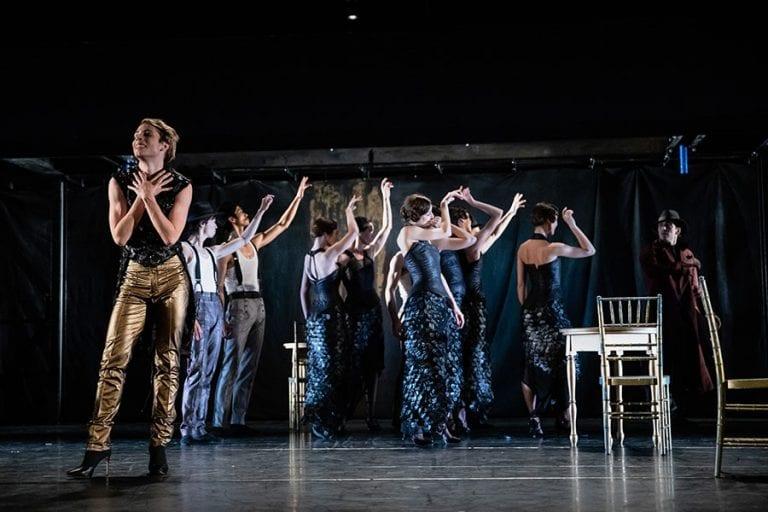 Veliki Gatsby: Filippo Jorio in baletni ansambel; foto: Darja Stravs Tisu; vir: SNG Opera in balet Ljubljana